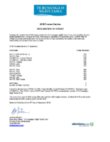 TRoNT 2019 Election of Trustees – Final Result